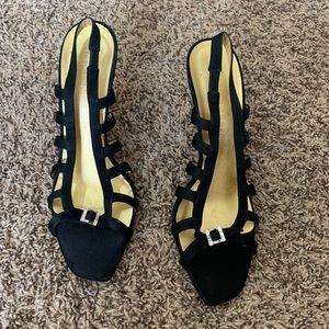 Anne Klein New York size 10 black heels